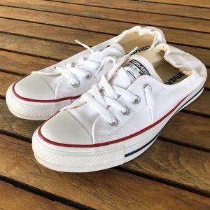 Converse shoreline white sneakers size 7.5